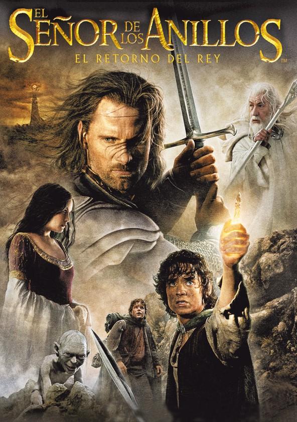 El señor de los anillos: El retorno del Rey poster