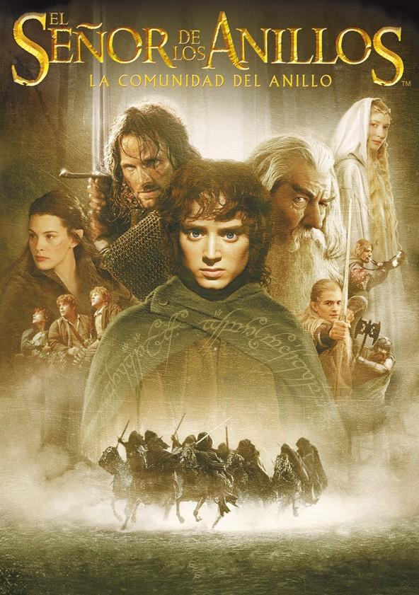 El señor de los anillos: La comunidad del anillo poster