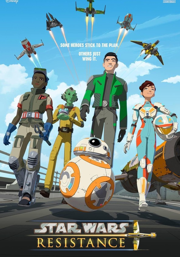 Star Wars: Resistance poster
