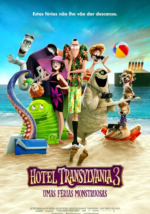 Hotel Transylvania 3: Umas Férias Monstruosas poster