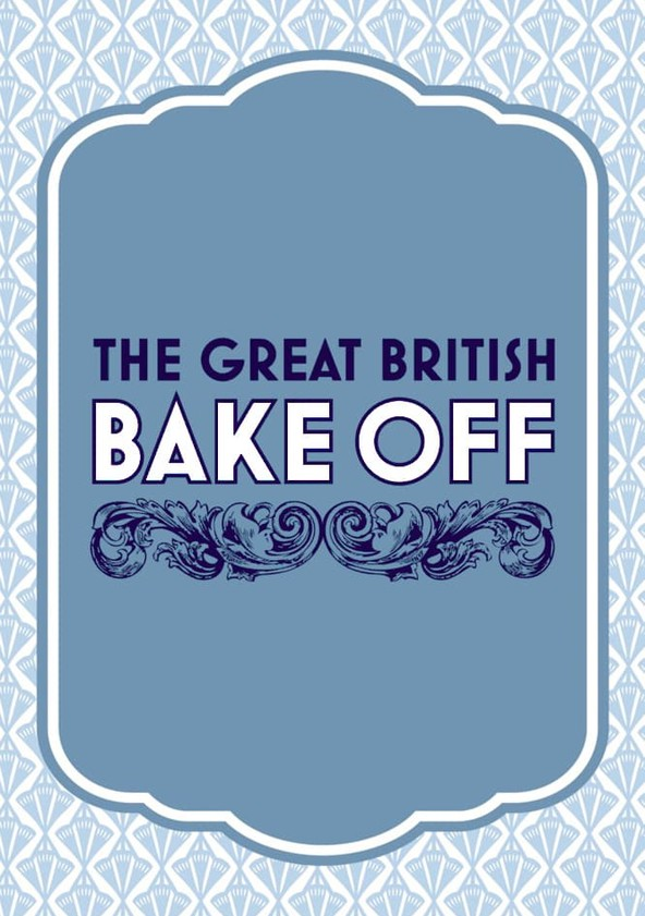 The Great British Bake Off poster