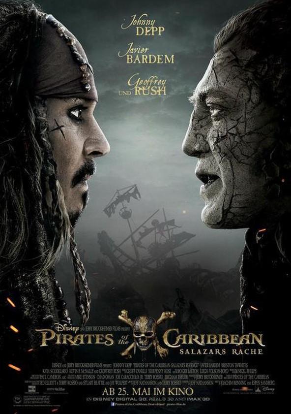 Pirates of the Caribbean: Salazars Rache poster