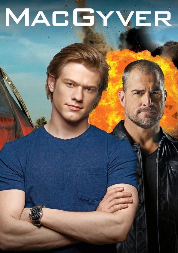 MacGyver Temporada 3 poster