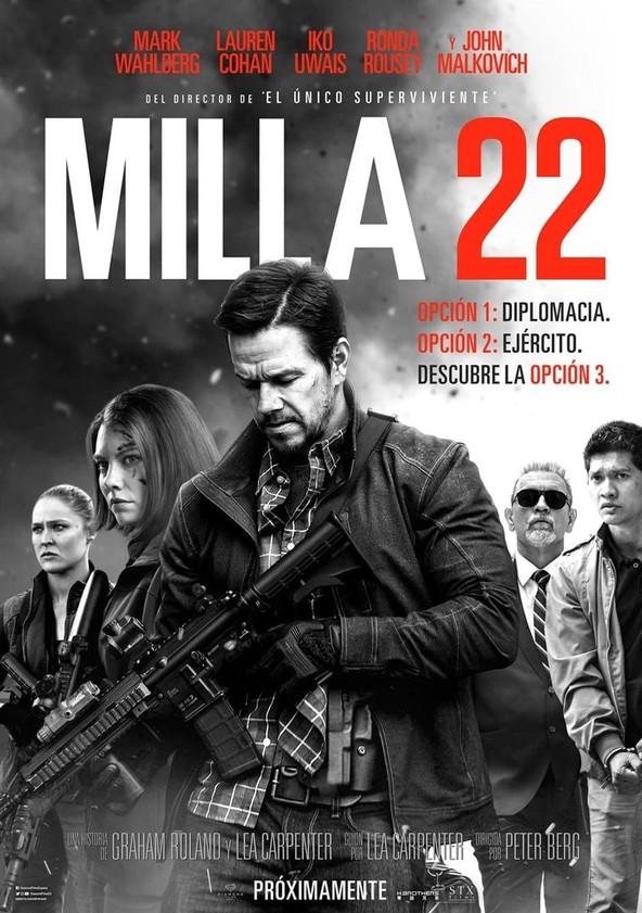 Milla 22 poster