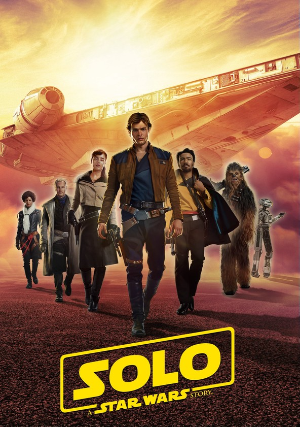 Solo – A Star Wars Story poster