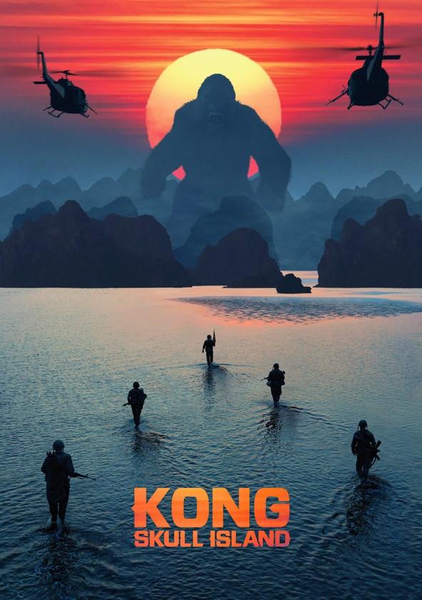 Kong: Pääkallosaari poster