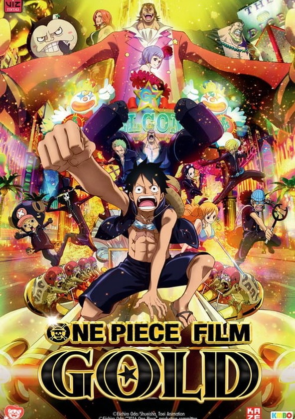 One Piece Film  GOLD streaming  where to watch online  9647399371ce
