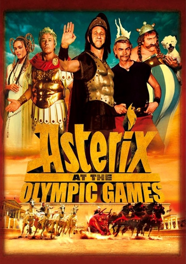 asterix at the olympic games english dub