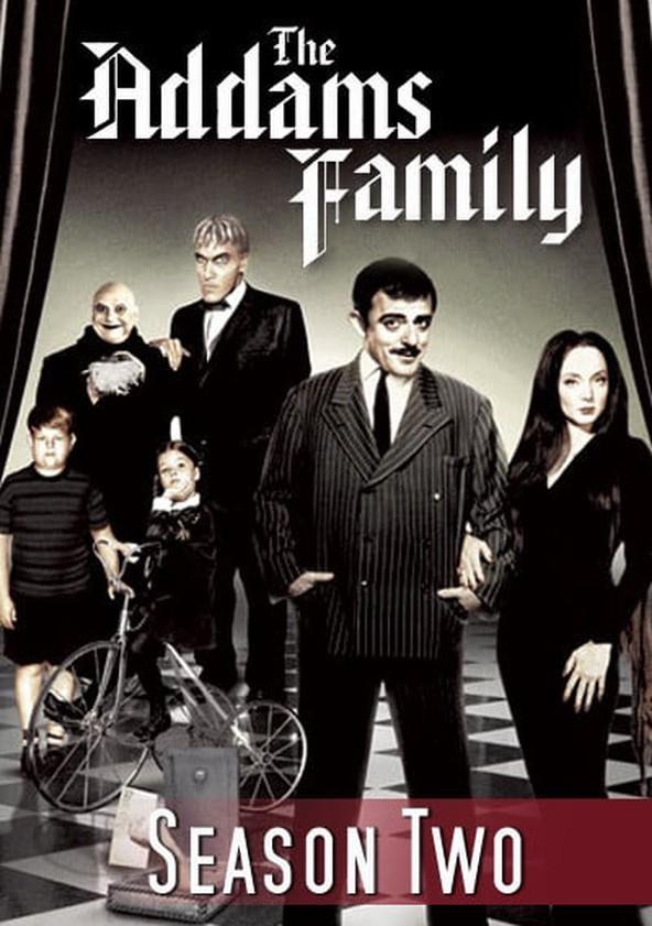 The Addams Family Season 2 poster