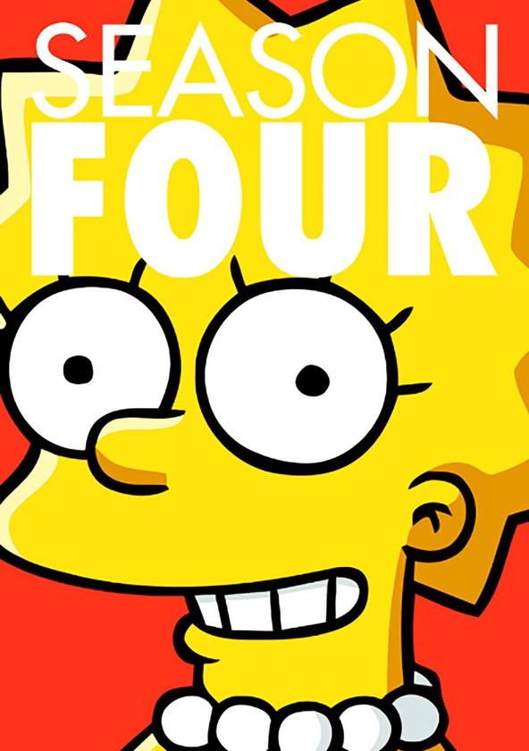 The Simpsons Season 4 poster