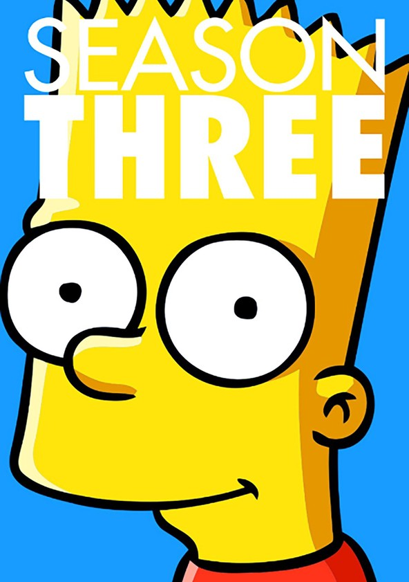 The Simpsons Season 3 poster