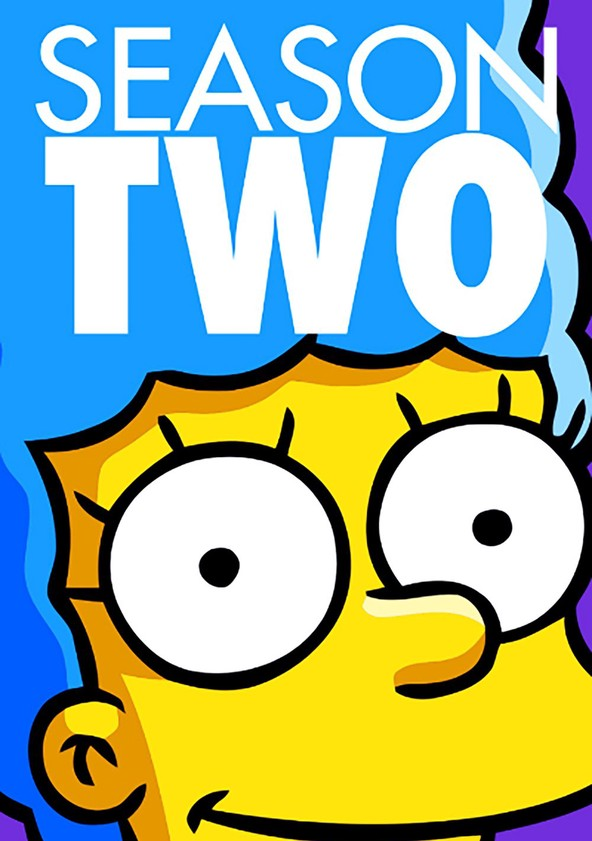 The Simpsons Season 2 poster