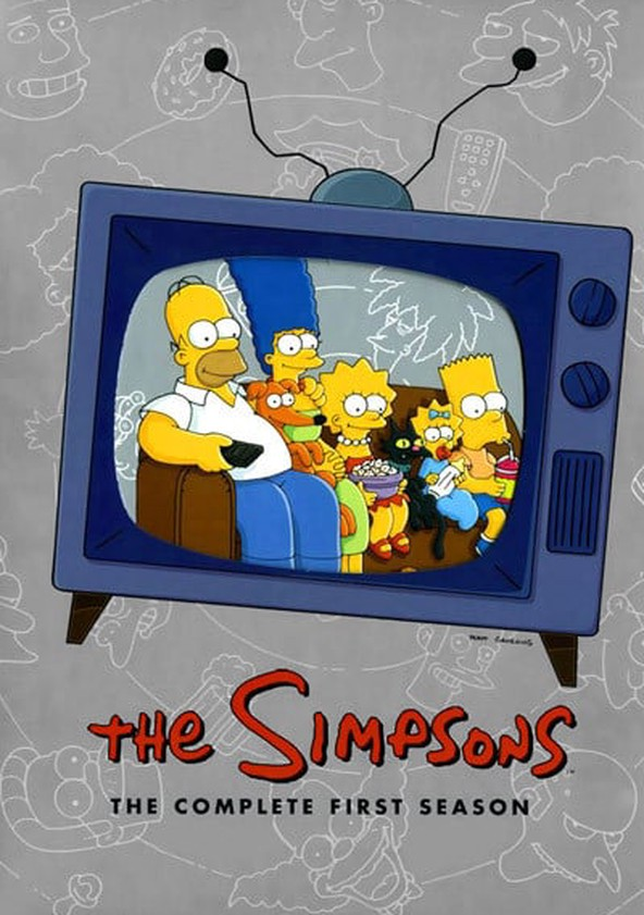The Simpsons Season 1 poster