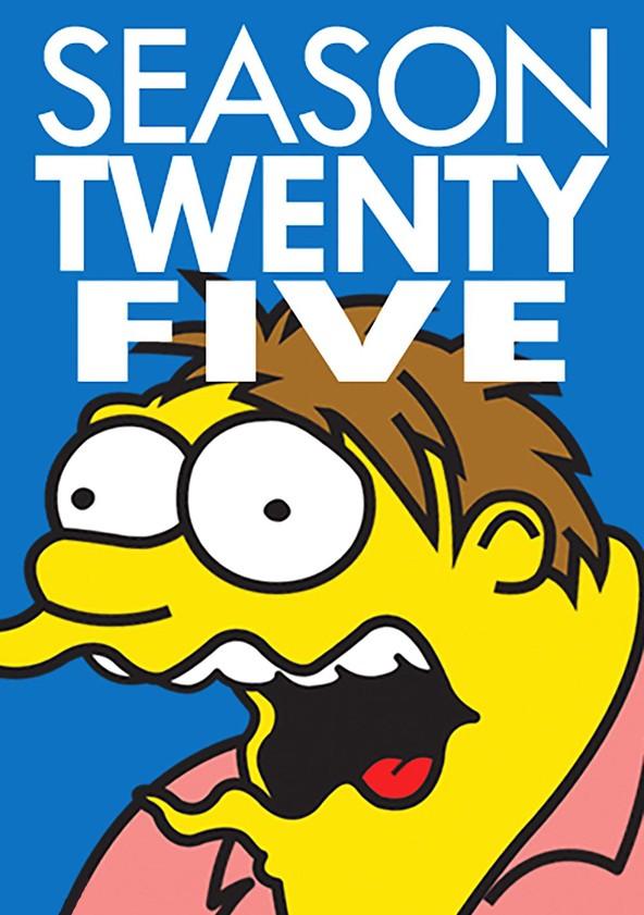 The Simpsons Season 25 poster