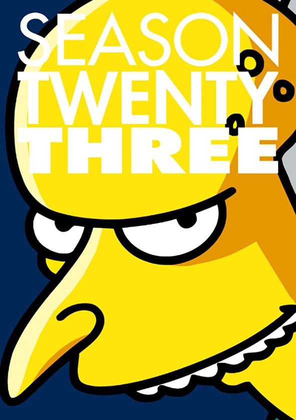 The Simpsons Season 23 poster