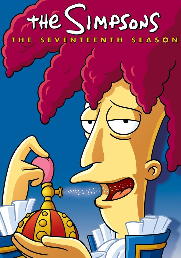 The Simpsons Season 17 poster
