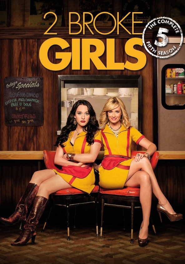 2 Broke Girls Season 5 poster