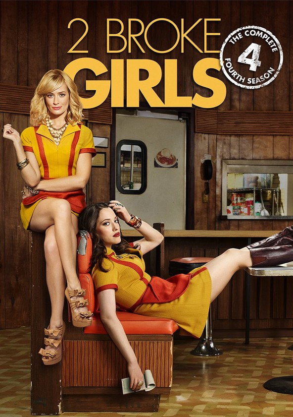 2 Broke Girls Season 4 poster