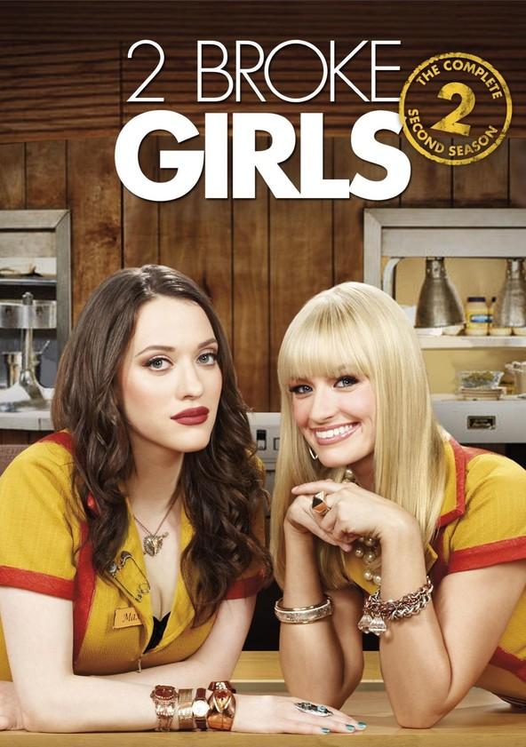 2 Broke Girls Season 2 poster