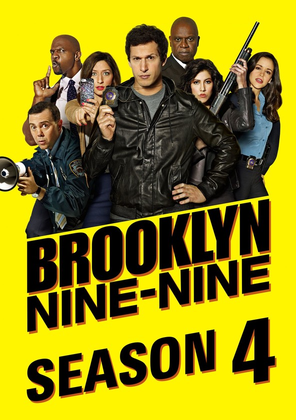 Brooklyn Nine-Nine Season 4 poster