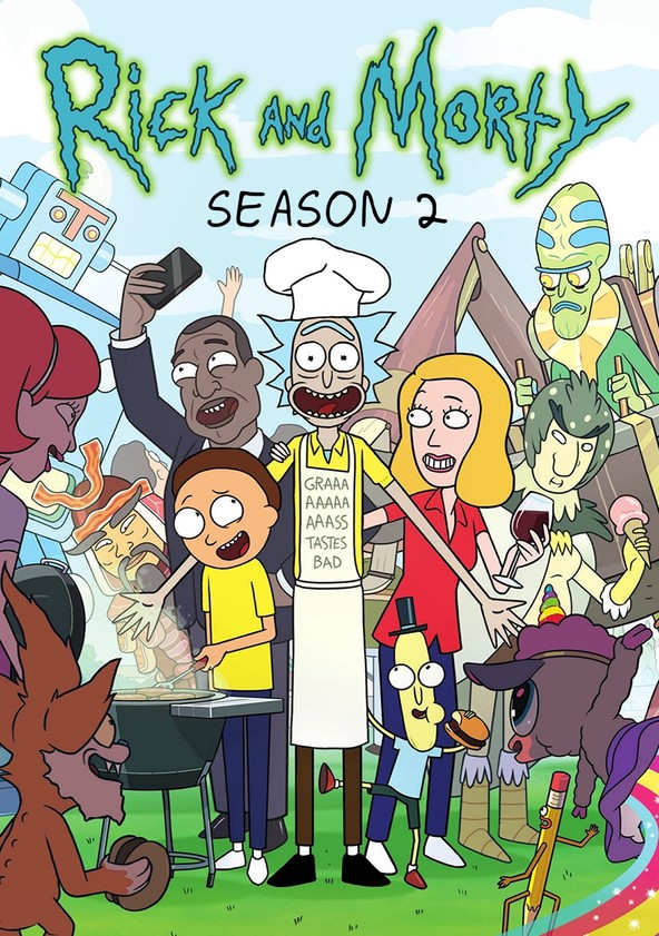 Rick and Morty Season 2 poster