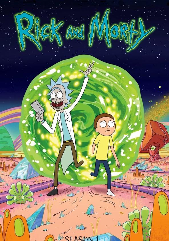 Rick and Morty Season 1 poster