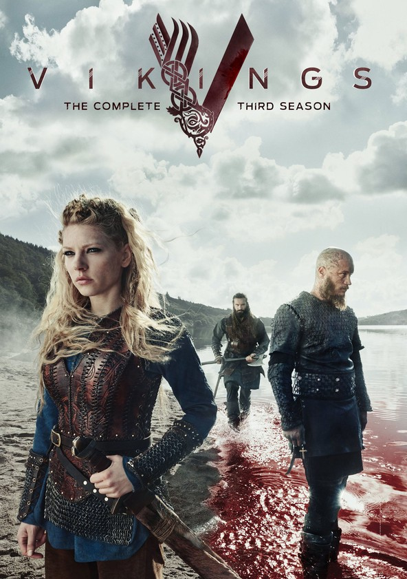 Vikings Stagione 3 poster