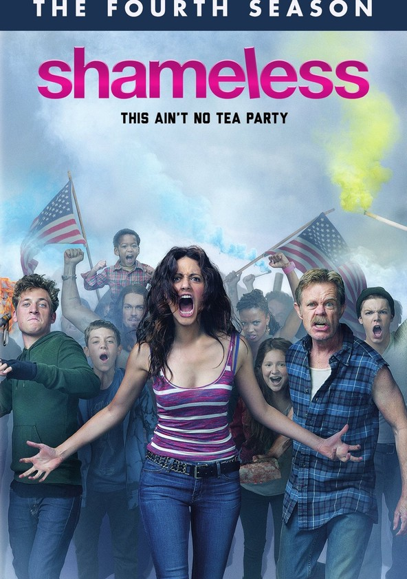 Shameless - Nicht ganz nüchtern Staffel 4 poster