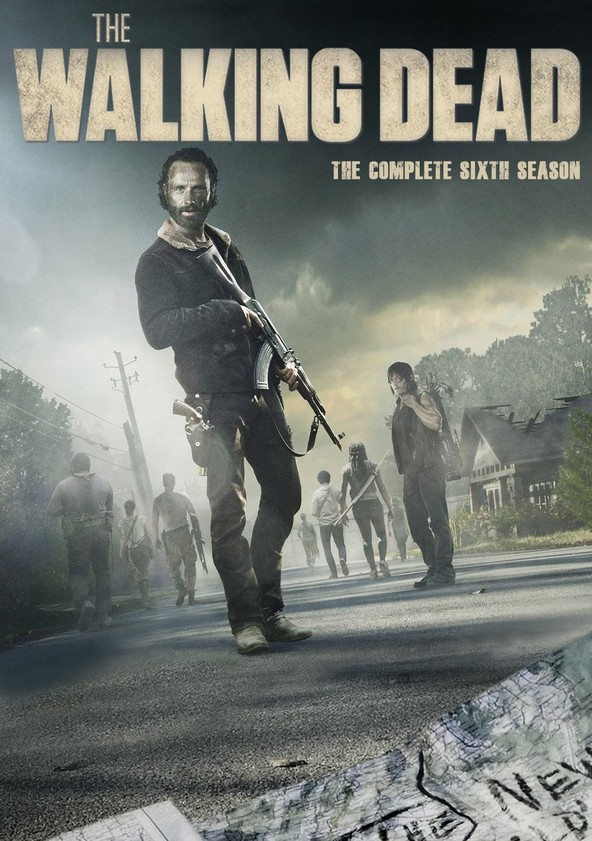 The Walking Dead Temporada 6 poster
