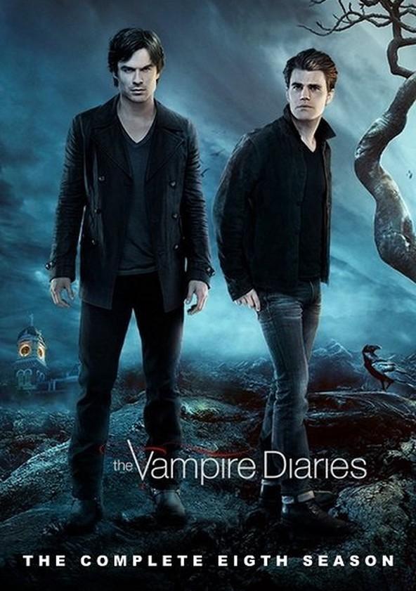 Crónicas vampíricas Temporada 8 poster