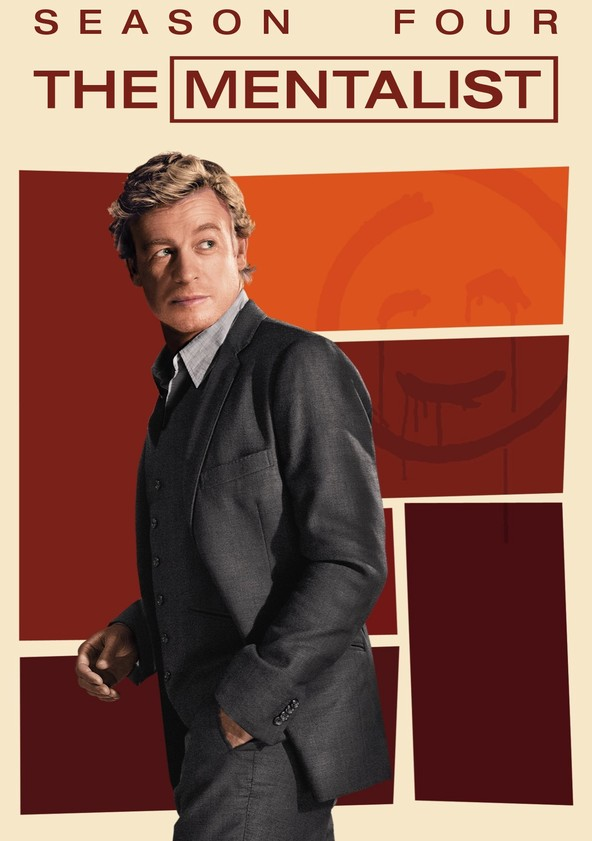 The Mentalist Season 4 poster