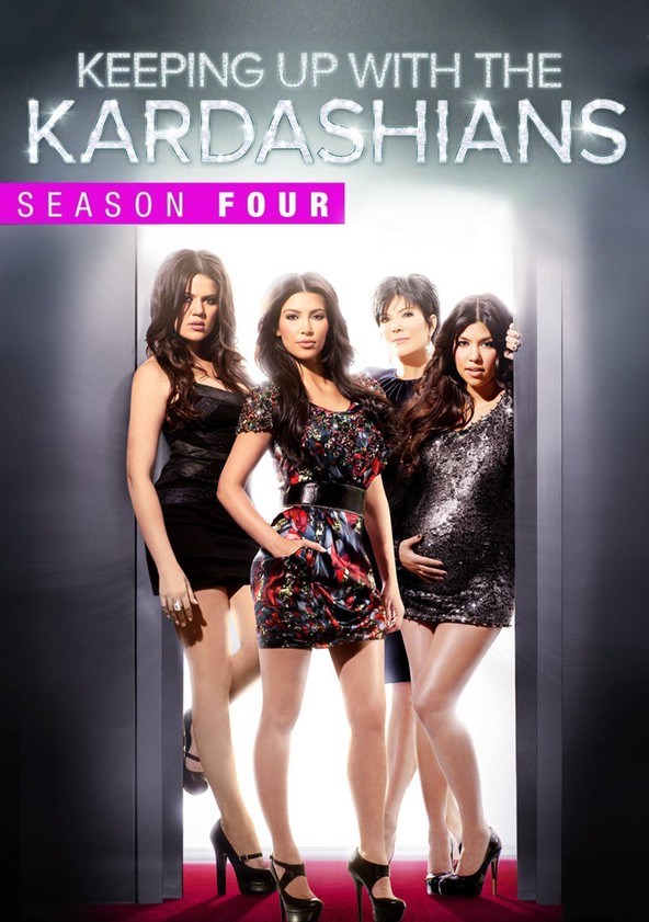 Keeping Up with the Kardashians Season 4 poster