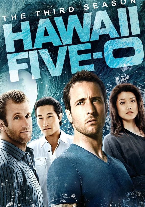 Hawaii Five-0 Season 3 poster