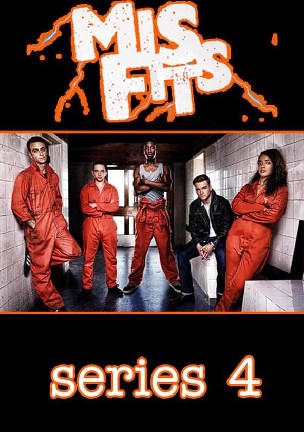 Misfits Season 4 poster