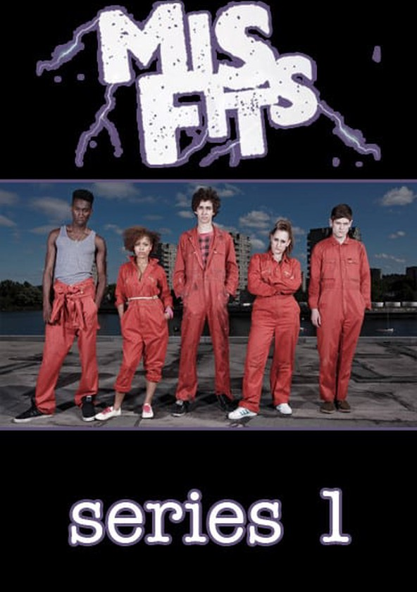 Misfits Season 1 poster