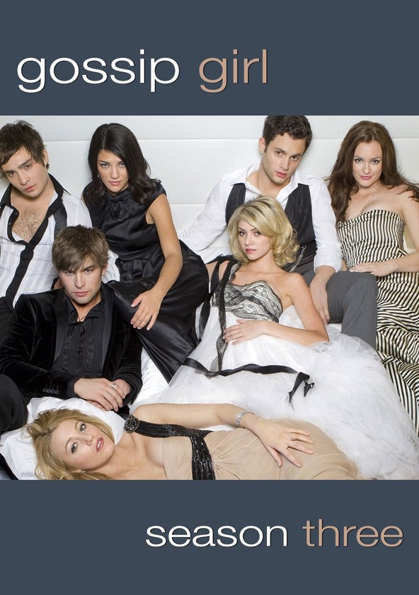 Gossip Girl Season 3 poster