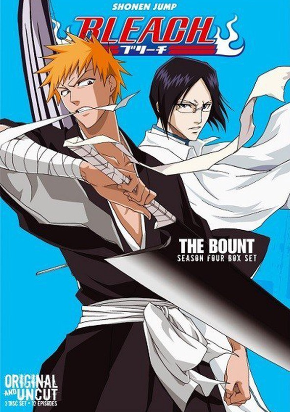 Bleach Season 4 - watch full episodes streaming online
