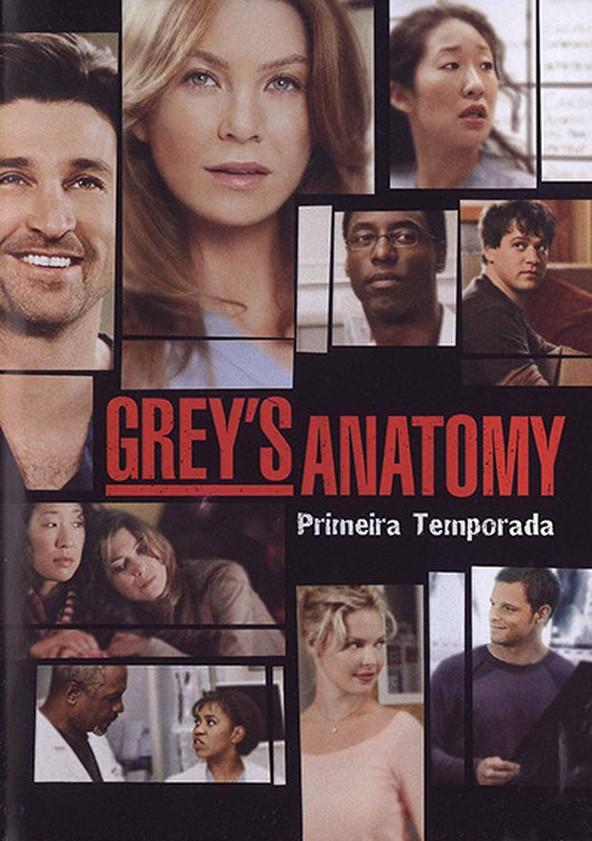 Anatomia de Grey 1.ª Temporada poster