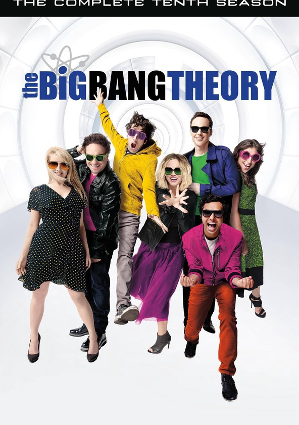 The Big Bang Theory Season 10 poster