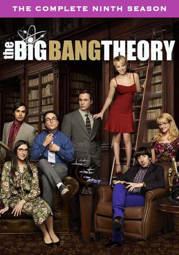 The Big Bang Theory Season 9 poster