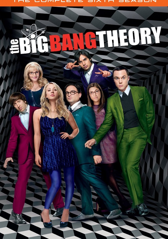 The Big Bang Theory Season 6 poster