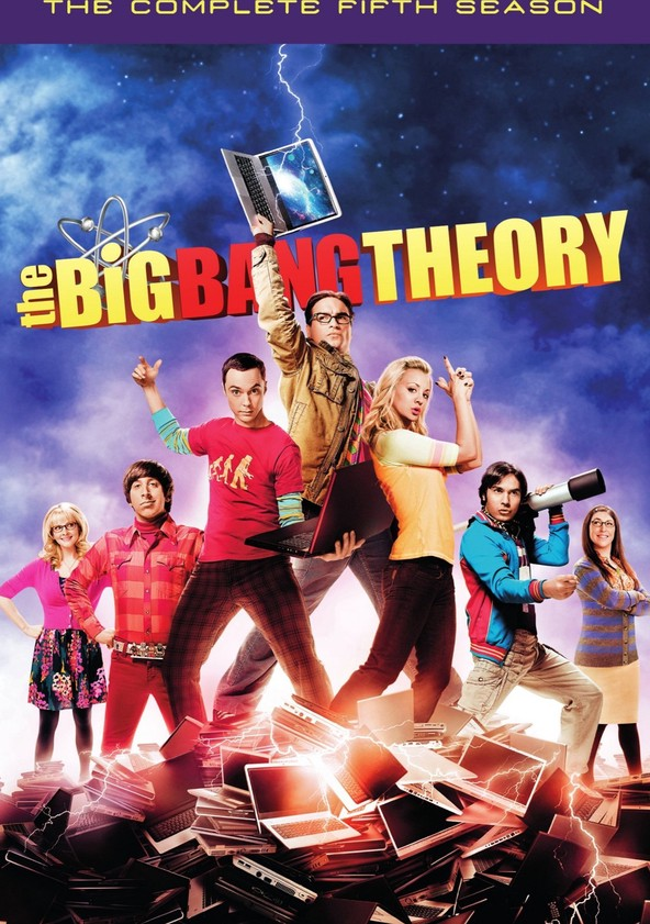 The Big Bang Theory Season 5 poster