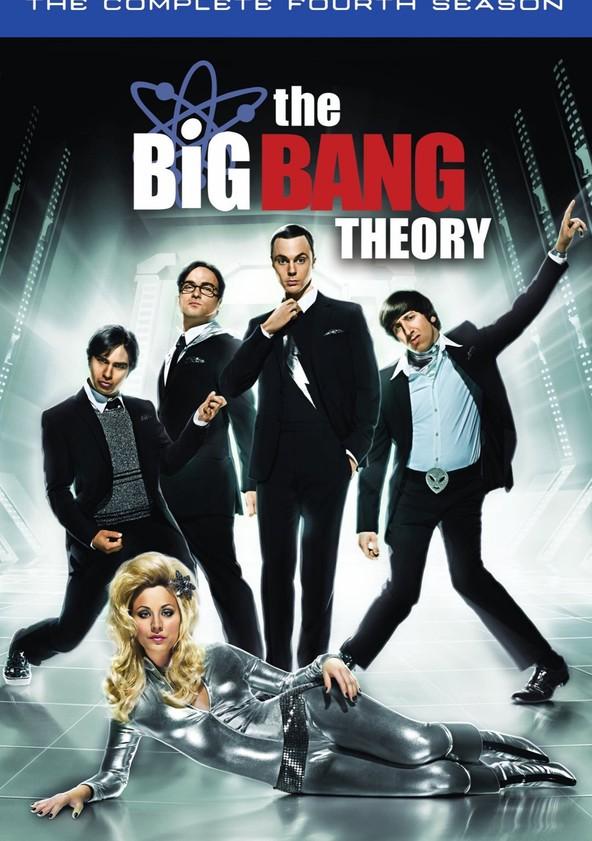 The Big Bang Theory Season 4 poster