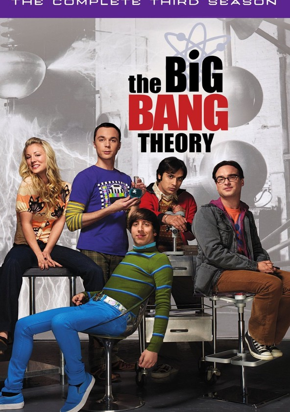 The Big Bang Theory Season 3 poster