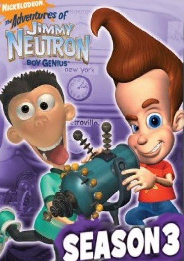 the adventures of jimmy neutron boy genius season 3 streaming