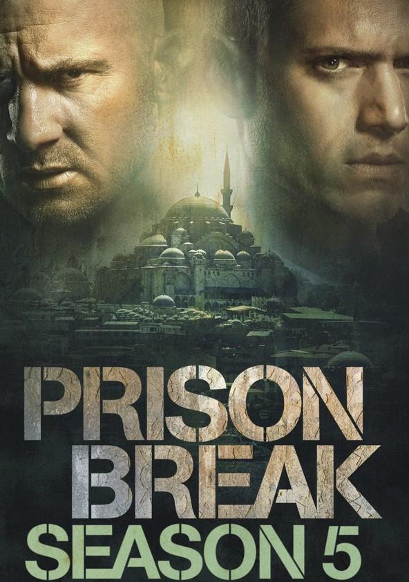 Prison Break Season 5 - Resurrection poster