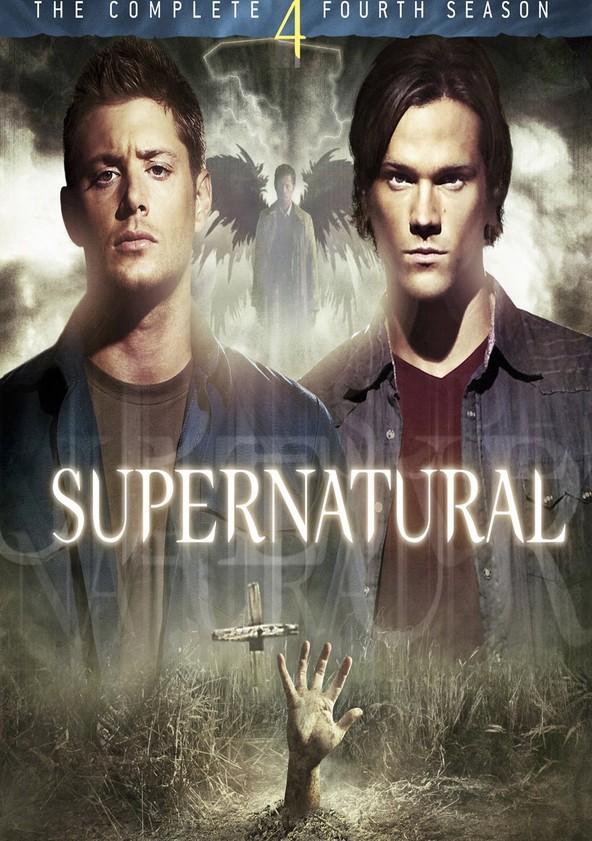 Sobrenatural Temporada 4 poster