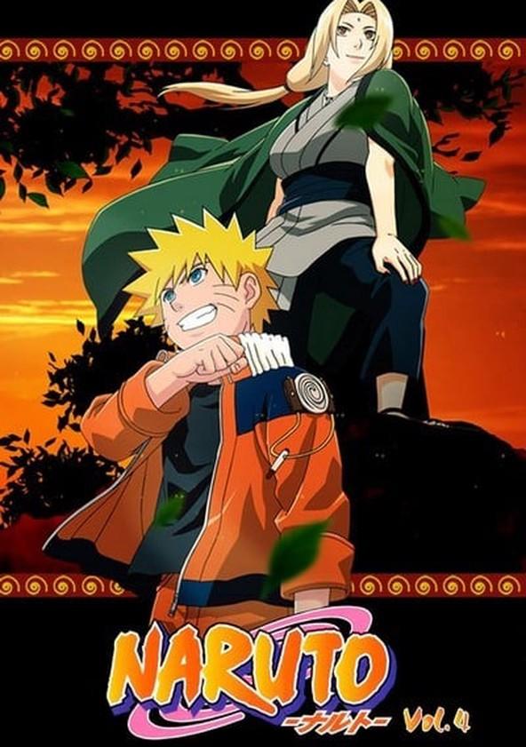 Naruto Season 4 poster