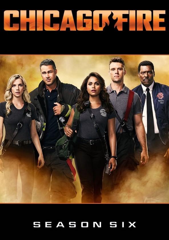 Chicago Fire Temporada 6 poster