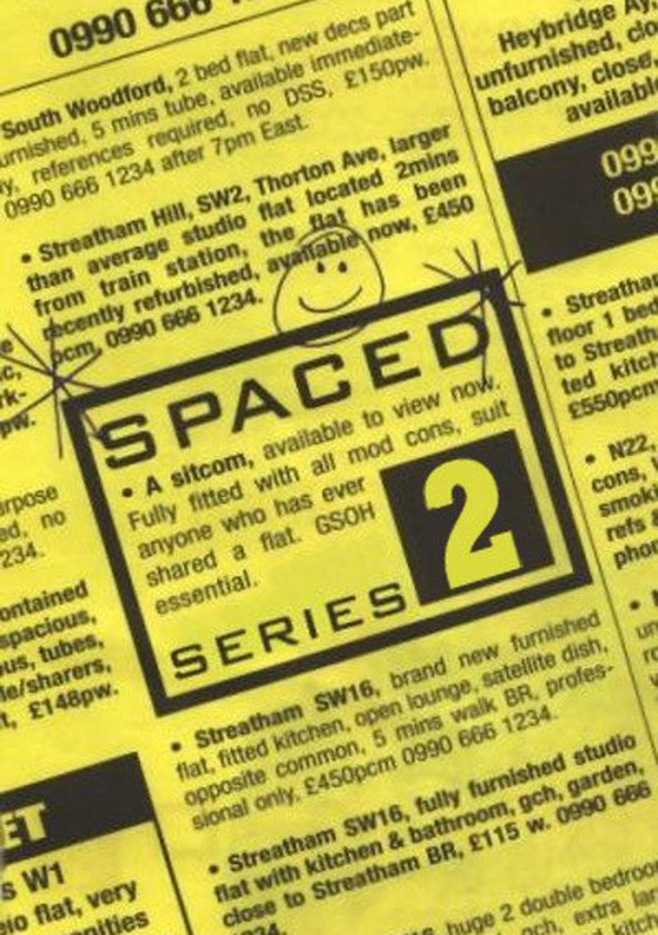 Spaced Season 2 poster